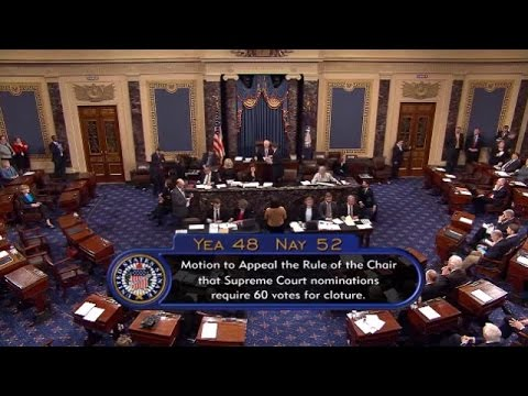 Going 'Nuclear': Watch the Senate Change its Rules for Supreme Court Nominees