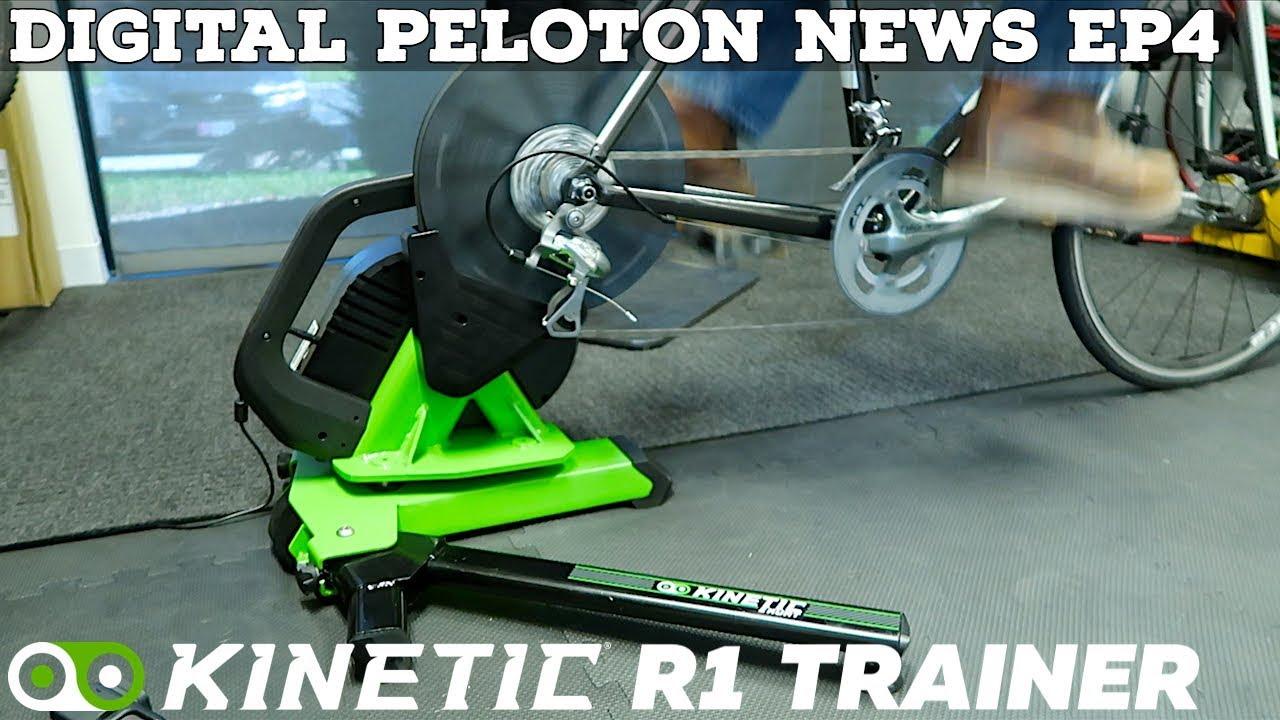 d8b916b5216 Digital Peloton News EP4: Kinetic R1 Smart Trainer // Kickr CORE ...