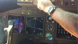 Боинг 747-400 Трансаэро Визуальный Шарм-эль-Шейх