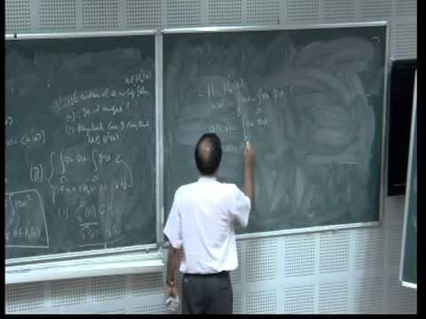 15 Tutorial by Adimurthi - Basics of functional analysis, Sobolev spaces
