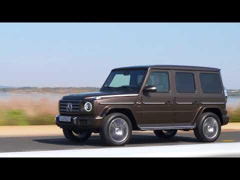 Mercedes-Benz G 500 citrine brown magno