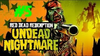 Red Dead Redemption: Undead Nightmare - Can't Get the Zombies to the Gatling Gun! (Part 5)