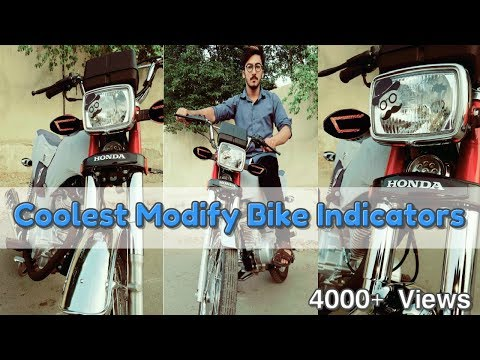 How to Coolest modify your Bike indicators | D Modified