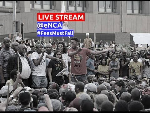 WATCH: #FeesMustFall protest to the Union Buildings
