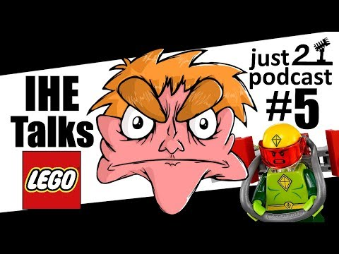 I Hate Everything LEGO Interview! - just2podcast #5
