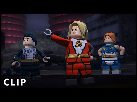 LEGO DC Justice League: Cosmic Clash – Legion of Superheroes Clip – Warner Bros. UK