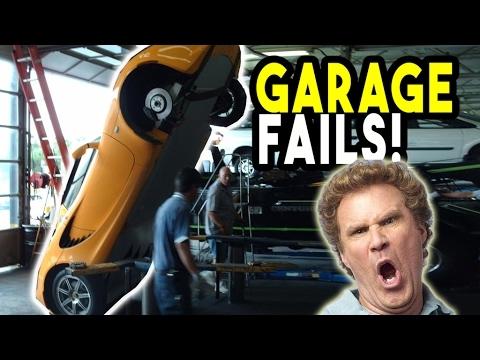 👑 Top 10 Garage Fails