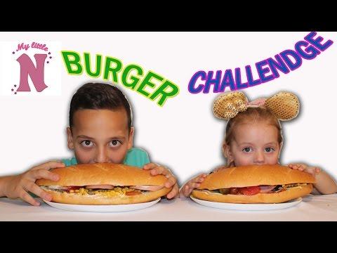 Бургер челлендж с цукатами и рыбой Вызов принят Burger Challenge