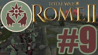 토탈워 로마2:아우구스투스 황제|아르메니아 #9 퀴드리…