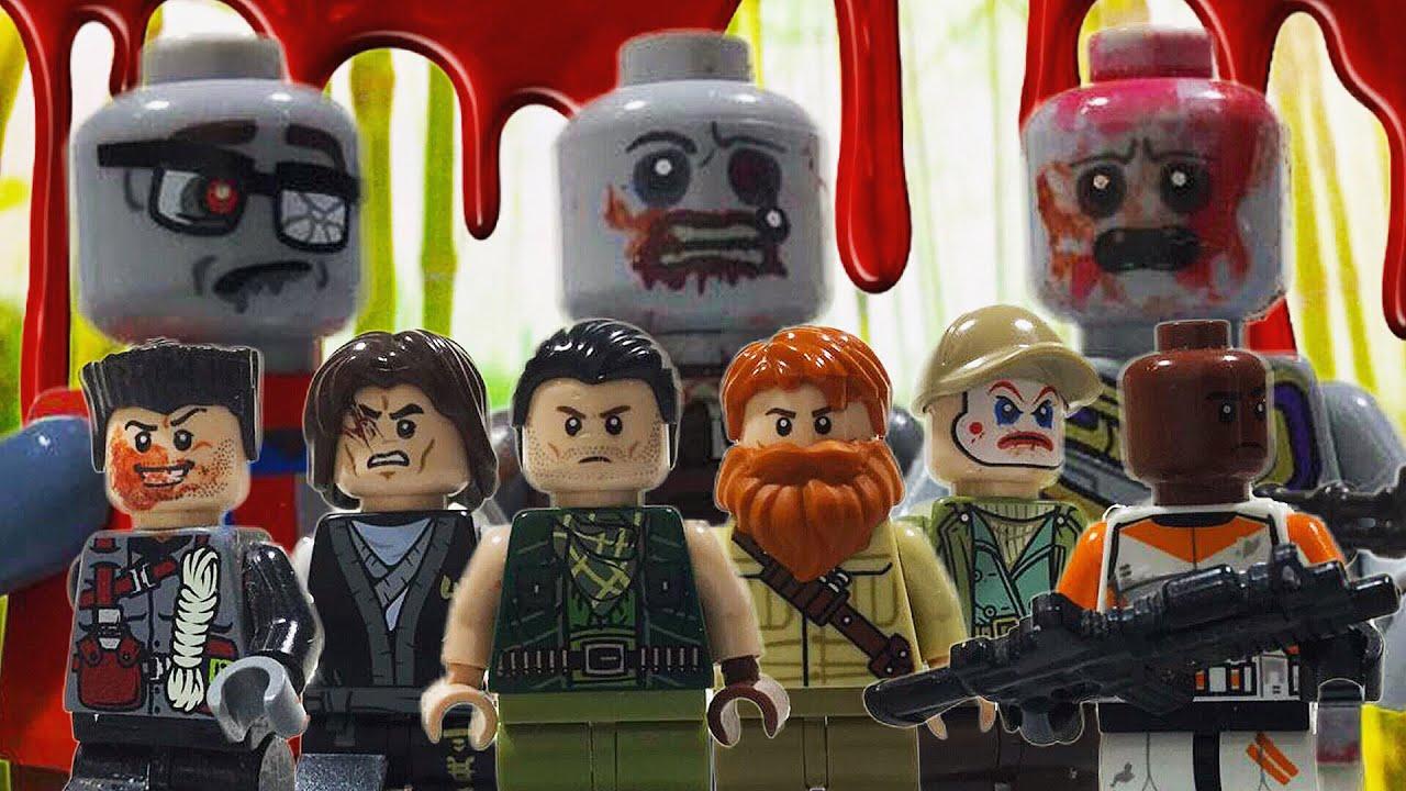 """LEGO ZOMBIE APOCALYPSE - Season 4 Episode 1 """"Exodus"""""""