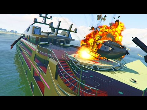 Generate GTA 5 WAR #8 - YACHT WARS! (GTA 5 Online) Snapshots