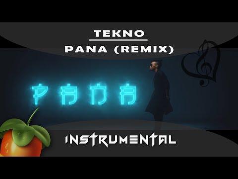 Tekno - Pana remake [ INSTRUMENTAL ] sur Fl studio