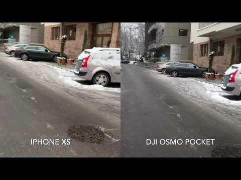 DJI Osmo Pocket Vs IPhone Xs