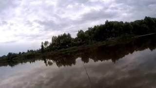 Рыбалка на реке Мокша (окрестности г. Ковылкино).Спиниг,дальний заброс,поплавок!