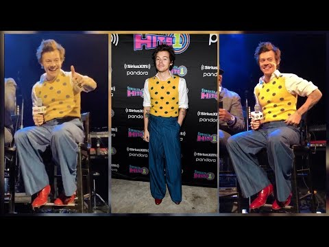 HARRY STYLES INTERVIEW AT THE SIRIUS XM SECRET SESSION (February 28)