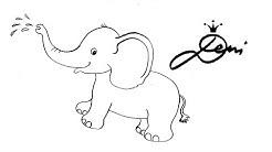 🐘 Elefant schnell zeichnen lernen 🐘 Tiere Zoo für Kinder 🐘 how to draw 🐘 как се рисува слонче