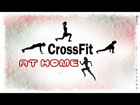 Кроссфит дома/CrossFit at home
