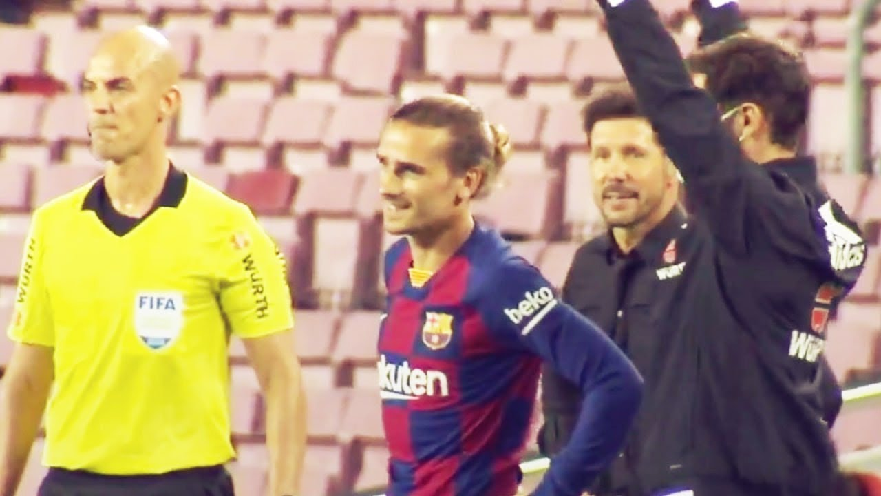 Griezmann's father calls out FC Barcelona's coach on Instagram! | Oh My Goal