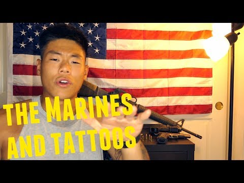 Can u have tattoos in the marines