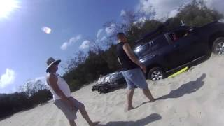 inskip point 4wd , fraser island , must watch if towing