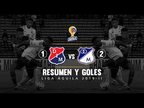 Medellín vs Millonarios (1-2): resumen y goles - Fecha 12 Liga Águila 2019-II