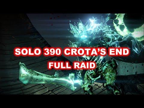 Destiny | Solo 390 Crota's End | Full raid