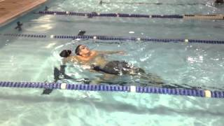 Life saving drill plus combat swimmer stroke /freestyle