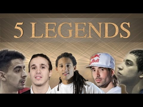 5 LEGENDS PLAYING FUTSAL! MUST SEE!