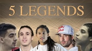 5 LEGENDS PLAYING FUTSAL!