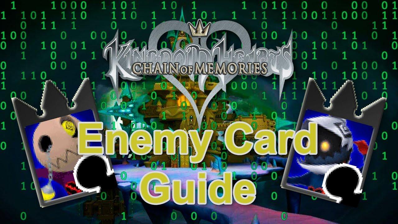 Carte Kingdom Hearts Red nocturne !!!