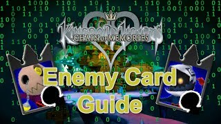 Kingdom Hearts Re:Chain of Memories - Fast Enemy Card Guide