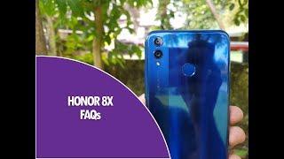 Honor 8X FAQs -Sensors, Gorilla Glass, Fast Charging, SoT, LED Notification, USB OTG and more