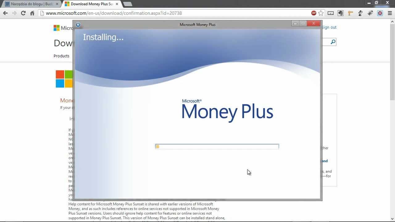 przewodnik po microsoft money część 1 instalacja programu youtube