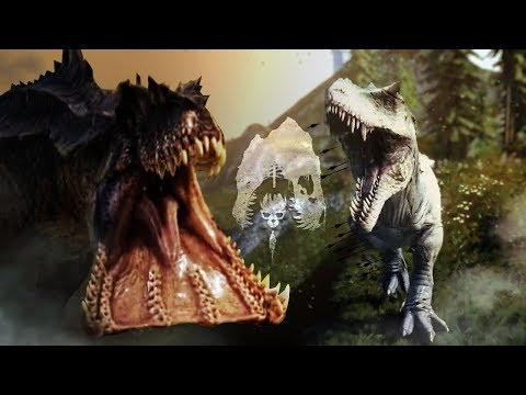 IT FELL FROM THE SKY! - Hypo Rex Battles Tribal Group, Hypo Giga's Terror, & New Updates! - The Isle