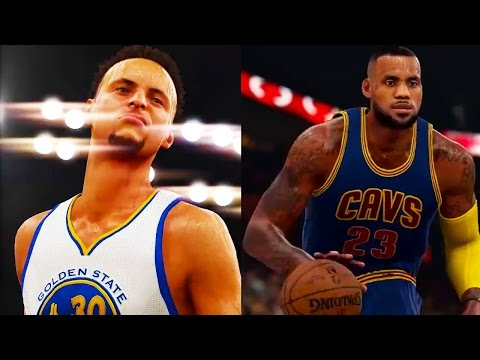 NBA 2K16 Gameplay - Stephen Curry vs. LeBron!! Golden State Warriors vs. Cleveland Cavaliers!! (PS4)