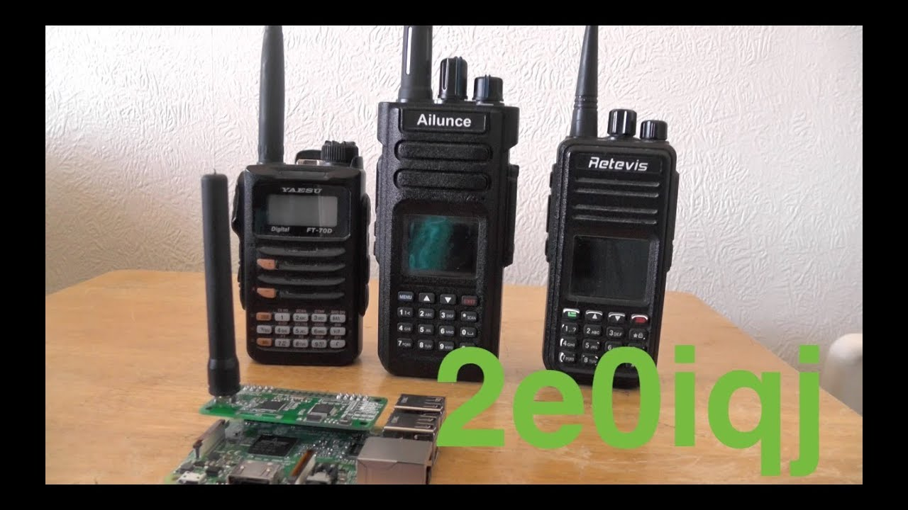 Ailuance HD1 Dual Band DMR HT Debut Video HAM Tecnologia