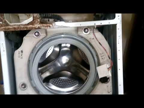 Установка нового тэна на стиральную машину Зануси!