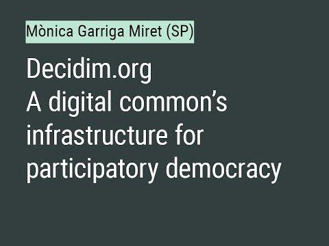 #SWAP: Mònica Garriga Miret (Decidim.org)