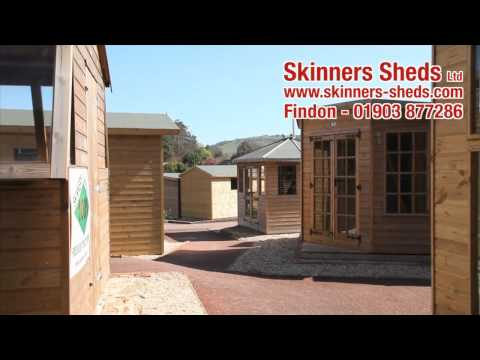 Skinners Sheds - Wyevale Garden Centre in Findon, West Sussex