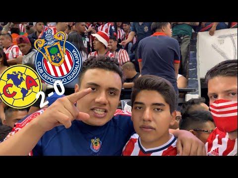 SIN BRIZUELA NO CARDOZO, ADIÓS COPA MX - america VS chivas 2-0 cuartos de final 2019 estadio azteca