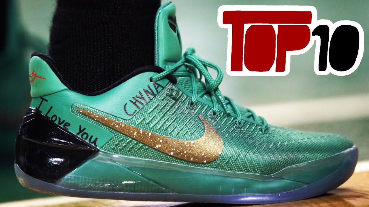 Top 10 Nike Kobe A.D. Shoes Of 2017 - YouTube ba567091e
