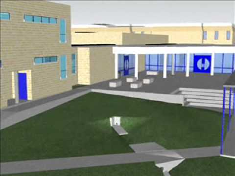 Sketchup Bradley Middle School Campus Map Neisd Youtube