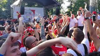 Liverpool Fans in Kiev! Mo Salah song