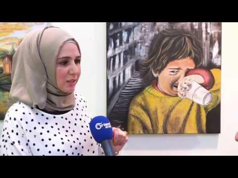 معرضا لفنانين سوريين بغازي عنتاب لنقل معاناة المعتقلين  - 22:53-2018 / 9 / 18