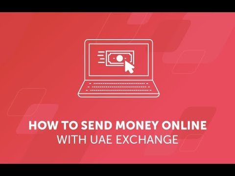 How To Send Money Online With UAE Exchange