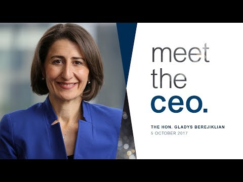 Meet the CEO – The Hon. Gladys Berejiklian MP, Premier NSW