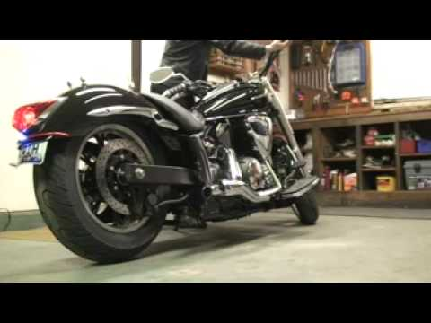 V Star 950 in Garage - YouTube