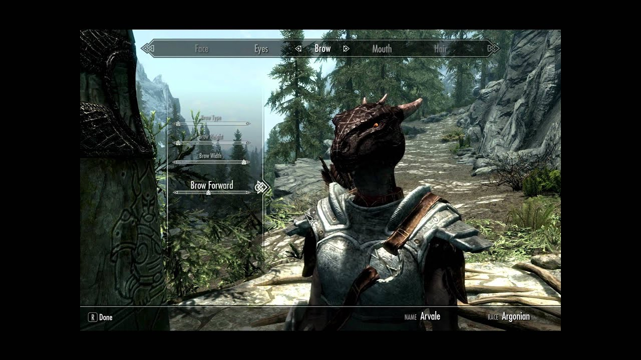 Skyrim Guide Make Your Argonian Look Like A Dragon