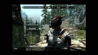 Repeat youtube video Skyrim Guide - Make your Argonian look like a dragon!