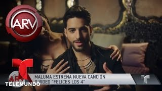 Maluma estrenó 'Felices los 4' | Al Rojo Vivo | Telemundo